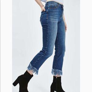 Topshop Dree Moto Jeans